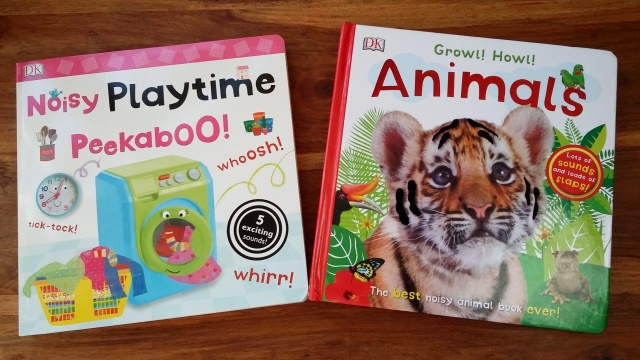 Dk Sound Books Noisy Playtime Peekaboo Growl Howl Animals