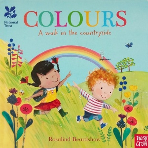 Cover of Colours by Rosalind Beardshaw Nosy Crow.jpg
