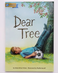 Cover of Dear Tree by Doba Rivka Weber and Phyllis Saroff Hachai Publishing PJ Library