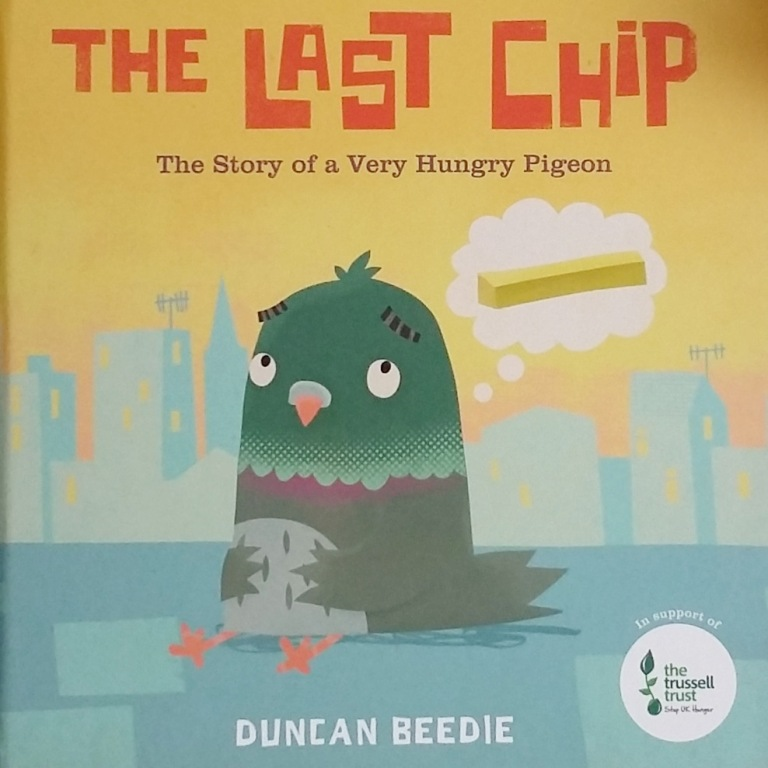 Cover of The Last Chip by Duncan Beedie Templar Publishing Picture Book in aid of The Trussell Trust