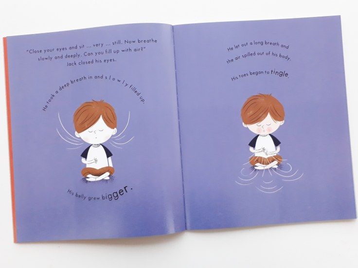 Deep breathing Mind Hug by Emily Arber and Vanessa Lovegrove Circus House Publishing - mindfulness for children