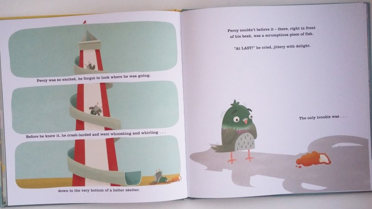 Illustrations in The Last Chip by Duncan Beedie Templar Publishing Picture Book in aid of The Trussell Trust