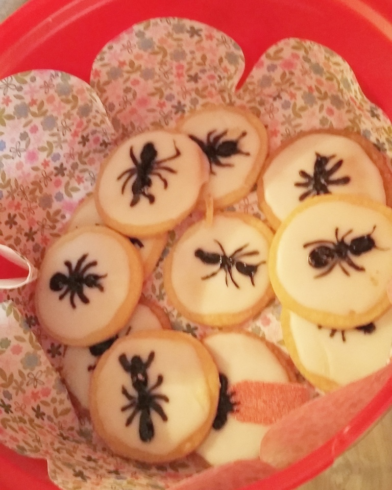 Little Ripon Bookshop I'm Going to Eat This Ant biscuits