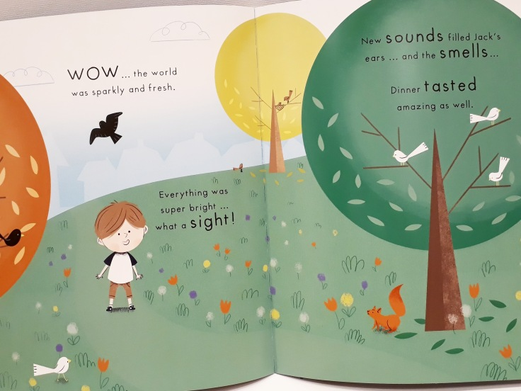 Positive feelings in Mind Hug by Emily Arber and Vanessa Lovegrove Circus House Publishing - mindfulness for children