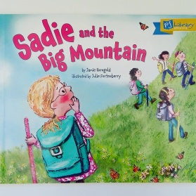 Sadie and the Big Mountain by Jamie Korngold and Julie Fortenberry PJ Library book
