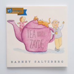 Tea With Zayde by Barney Saltzberg PJ Library book
