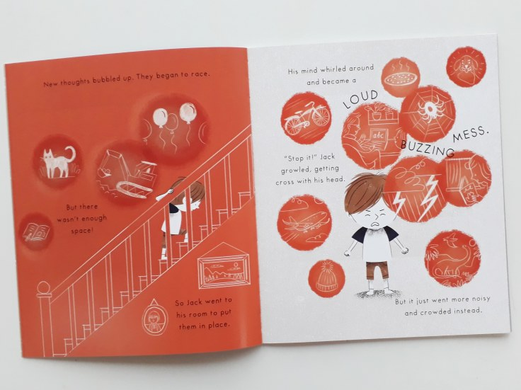 Thoughts in Mind Hug by Emily Arber and Vanessa Lovegrove Circus House Publishing - mindfulness for children