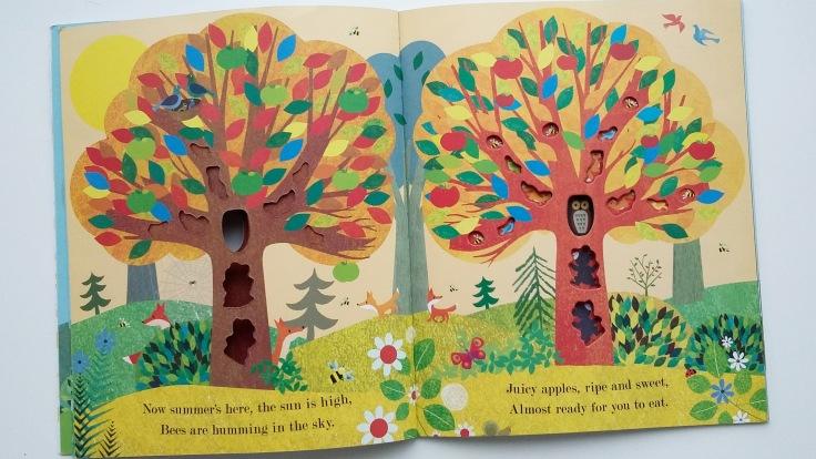 Tree Seasons Come Seasons Go by Patricia Hegarty and Britta Teckentrup