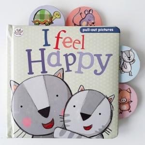 I Feel Happy by Giuditta Gaviraghi Little Learners Parragon Books