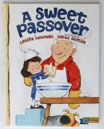 A Sweet Passover Pesach picture book Leslea Newman David Slonim Abrams Books