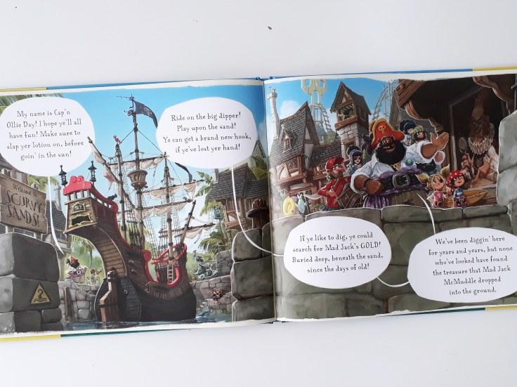 Cap'n Ollie Day Pirates of Scurvy Sands Jonny Duddle Templar Publishing