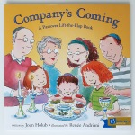 Company's Coming Passover lift the flap picture book Joan Holub Renee Andriani Puffin Books