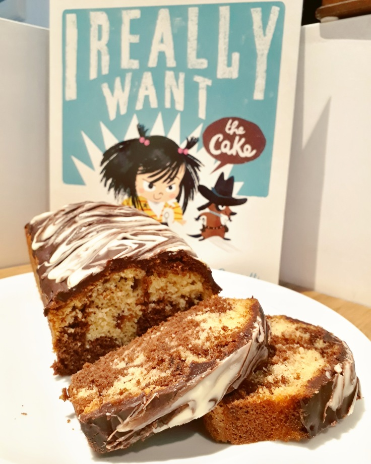 #IReallyWanttheCakeOFF zebra cake I Really Want the Cake Simon Philip Lucia Gaggiotti Templar Publishing Waterstones Children's Book Prize