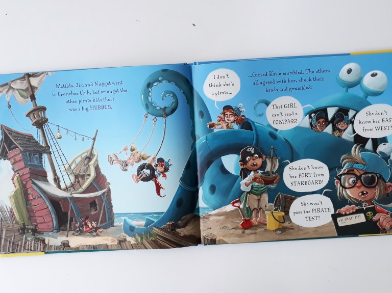 Kids club Pirates of Scurvy Sands Jonny Duddle Templar Publishing