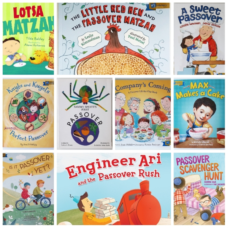 Kids picture books for Passover Pesach.jpg