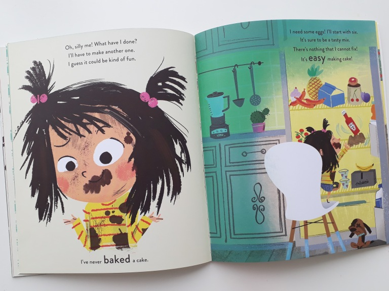 Making amends in I Really Want the Cake Simon Philip Lucia Gaggiotti Templar Publishing Waterstones Children's Book Prize