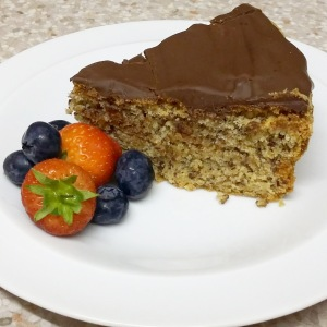 Pesach chocolate hazelnut torte Annette Gendler recipe kosher for Passover flourless cake