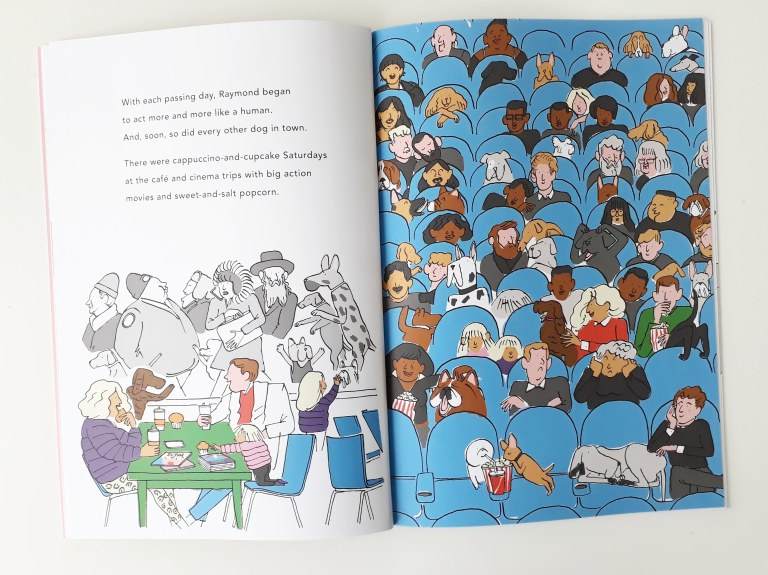 Raymond Yann and Gwendal Le Bec dog picture book Walker Books anthropomorphism
