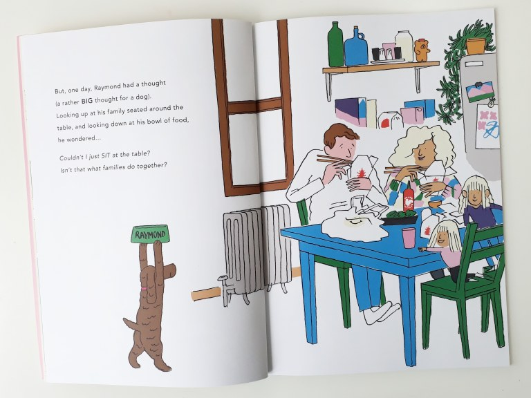 Raymond Yann and Gwendal Le Bec dog picture book Walker Books human family