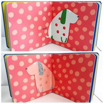 spots no spots opposites in big dog little dog lift the flap picture books walker studios elo