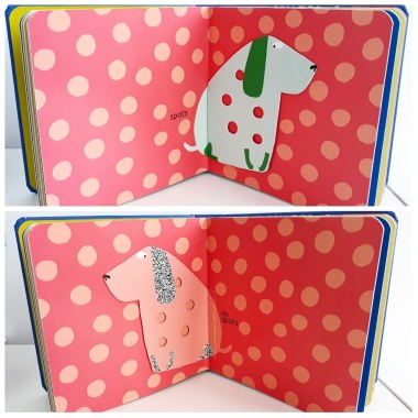 spots no spots opposites in big dog little dog lift the flap picture books walker studios elo