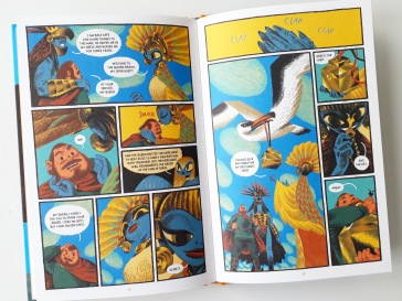 Comic book Gamayun Tales The King of Birds by Alexander Utkin Nobrow