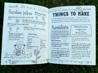 Jokes in The Anti-Boredom Book of Brilliant Outdoor Things to Do Andy Seed and Scott Garrett kids non fiction books Bloomsbury