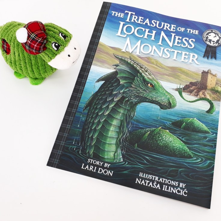 The Treasure of the Loch Ness Monster by Lari Don and Natasa Ilincic Discover Kelpies Scottish folk tales