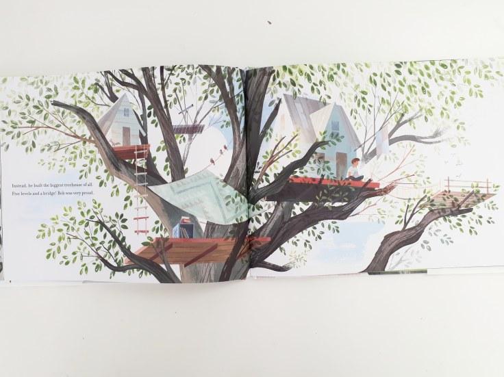 Treehouses in Up in the Leaves Shira Boss Jamey Christoph Sterling Children's Books