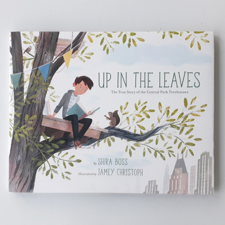 Up in the Leaves Shira Boss Jamey Christoph Sterling Children's Books