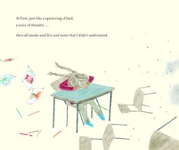 The Day War Came Rebecca Cobb Nicola Davies Walker Books page 8