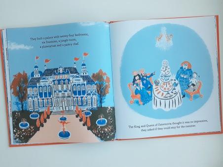 Exploring palaces in Grandma Z Daniel Gray-Barnett Scribble Kids Books
