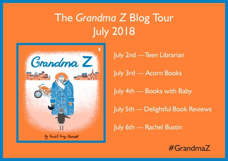 Grandma Z Daniel Gray-Barnett Scribble Books Blog tour