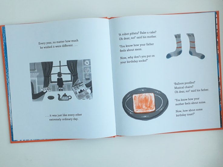 Ordinary grey birthday Grandma Z Daniel Gray-Barnett Scribble Kids Books