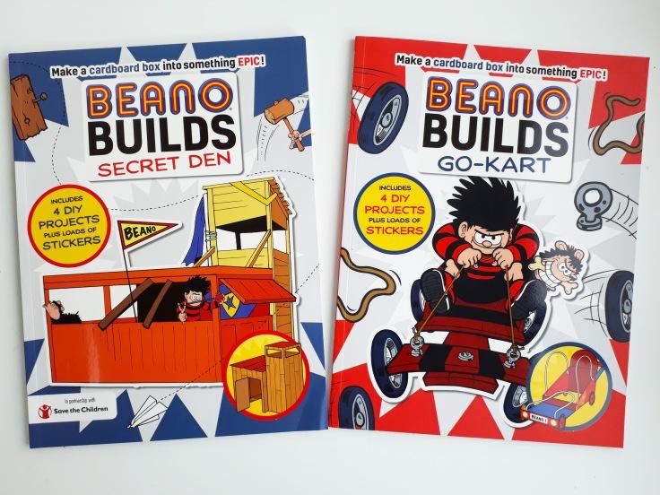 Beano Builds - Secret Den and Go Kart cardboard box modelling Templar Publishing