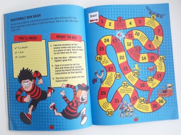 Board games in Beano Builds - Secret Den and Go Kart cardboard box modelling Templar Publishing