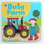 Busy Farm Lift the Flap book