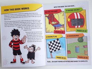 How the books work Beano Builds - Secret Den and Go Kart cardboard box modelling Templar Publishing