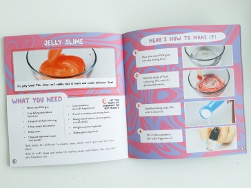 How to make homemade slime in Next Level DIY Slime by Karina Garcia Templar Publishing
