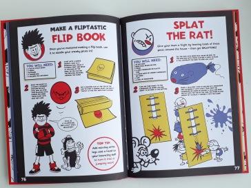 Kids activities in Beano Book of Mischief Mayhen and Fun Templar Publishing