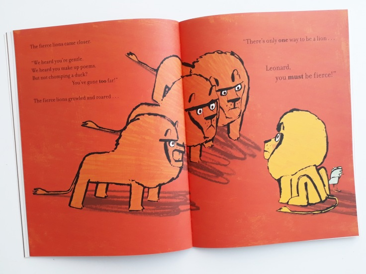 Lions are fierce How to Be A Lion Ed Vere Puffin Books