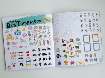Painting templates from Painting Rocks Laura Baker Templar Publishing