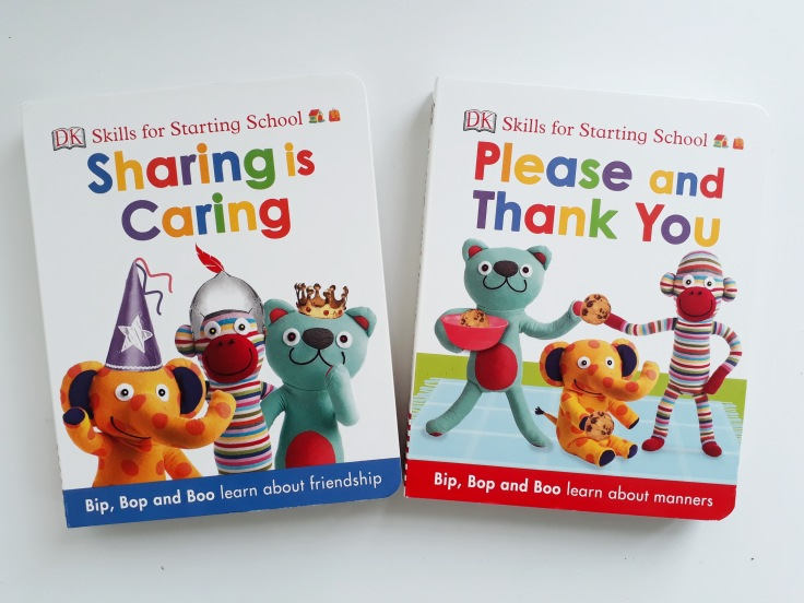 Skills for starting school DK Books Please and Thank you Sharing