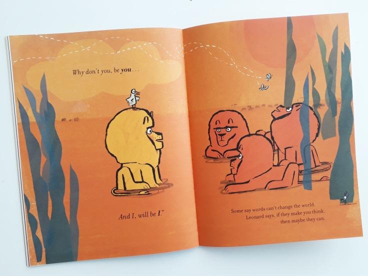 Why don't you be you and I will be I How to Be A Lion Ed Vere Puffin Books