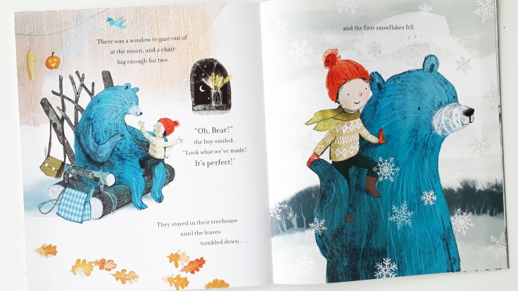 Friends in their treehouse The Boy and the Bear Tracey Corderoy Sarah Massini Nosy Crow