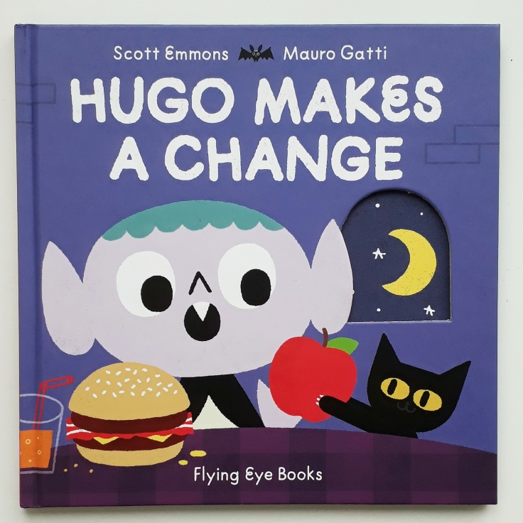 Hugo Makes a Change Scott Emmons Mauro Gatti Flying Eye Books Halloween picture book