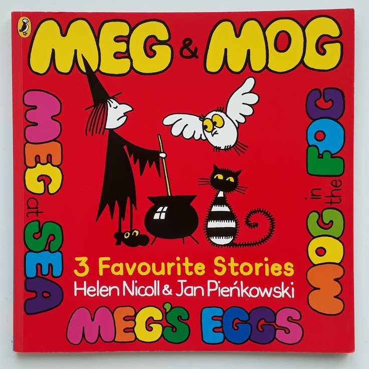 Meg and Mog witch stories Helen Nicoll and Jan Pienkowski Halloween picture book