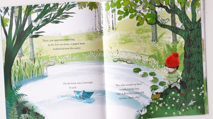 Searching for a friend in The Boy and the Bear Tracey Corderoy Sarah Massini Nosy Crow