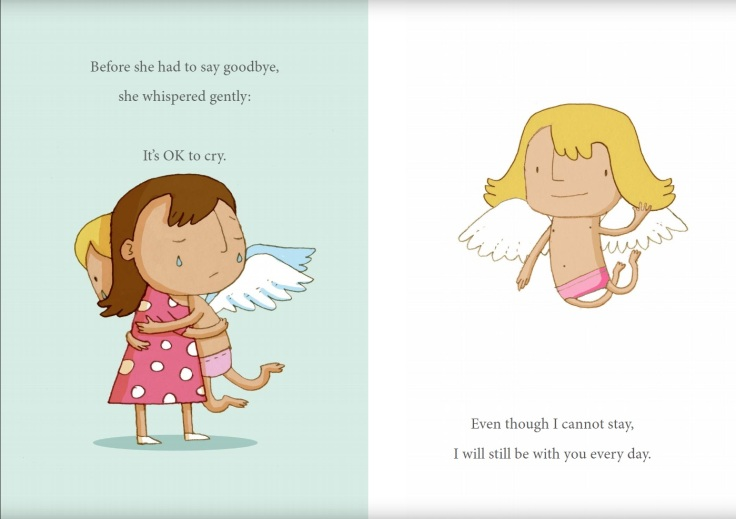 The Story Of baby and child loss books it's ok to cry