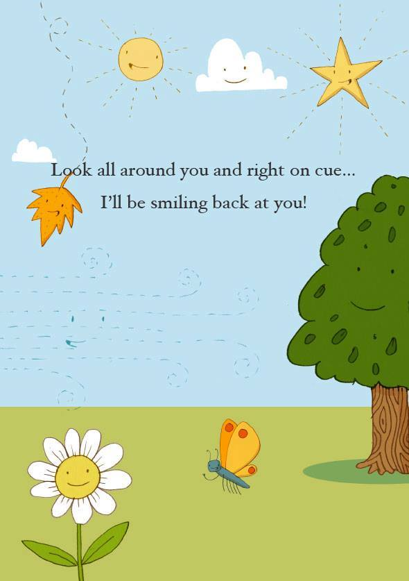 The Story Of baby and child loss books smiling
